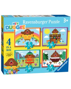 Ravensburger Hey Duggee 4 In A Box (12, 16, 20, 24Pc) Jigsaw Puzzles