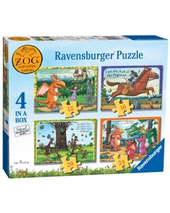 Ravensburger Zog & Other Stories 4 In Box (12, 16, 20, 24Pc) Jigsaw Puzzles