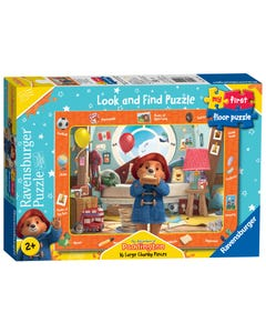 Ravensburger My First Look And First Floor Puzzle - The Adventures Of Paddington Bear, 16Pc Jigsaw Puzzles