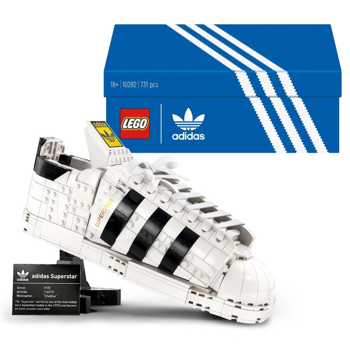 LEGO adidas Originals Superstar Set for Adults 10282