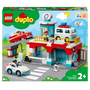 LEGO DUPLO Car Park and Car Wash Toy for Toddlers 10948