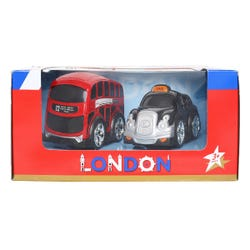 Hamleys London Bus And Taxi Playset