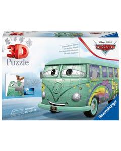Ravensburger Disney Pixar Cars Filmore - Vw T1 Camper Van, 162Pc 3D Jigsaw Puzzle