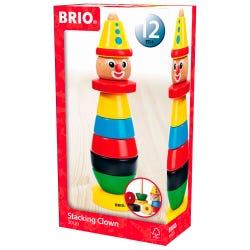 BRIO Infant & Toddler Stacking Clown