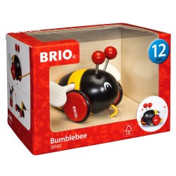 BRIO Infant & Toddler Pull Along Bumblebee