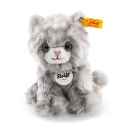 Steiff Grey Tabby Minka Kitten Soft Toy