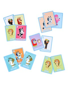 Bluey 5-In-1 Card Games Set