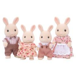 Sylvanian Families Milk Rabbit Family Set