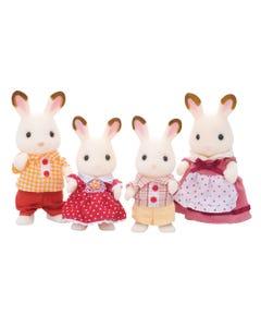 Sylvanian Families Chocolate Rabbit Family Set