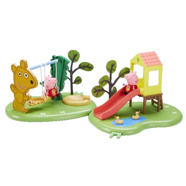 Peppa Pig Outdoor Fun Swing/Slide (2 Asst)