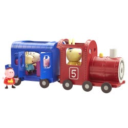 Peppa Pig Miss Rabbits Train & Car