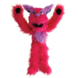 Pink Monster Puppet