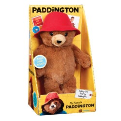 Paddington Bear My Name Is Paddington Talking Soft Toy
