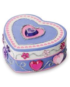 Melissa & Doug Heart Box Decoration Kit