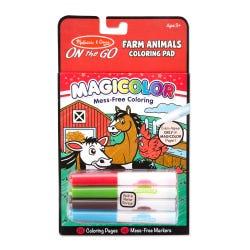 Melissa & Doug Farm Animals Coloring Pad