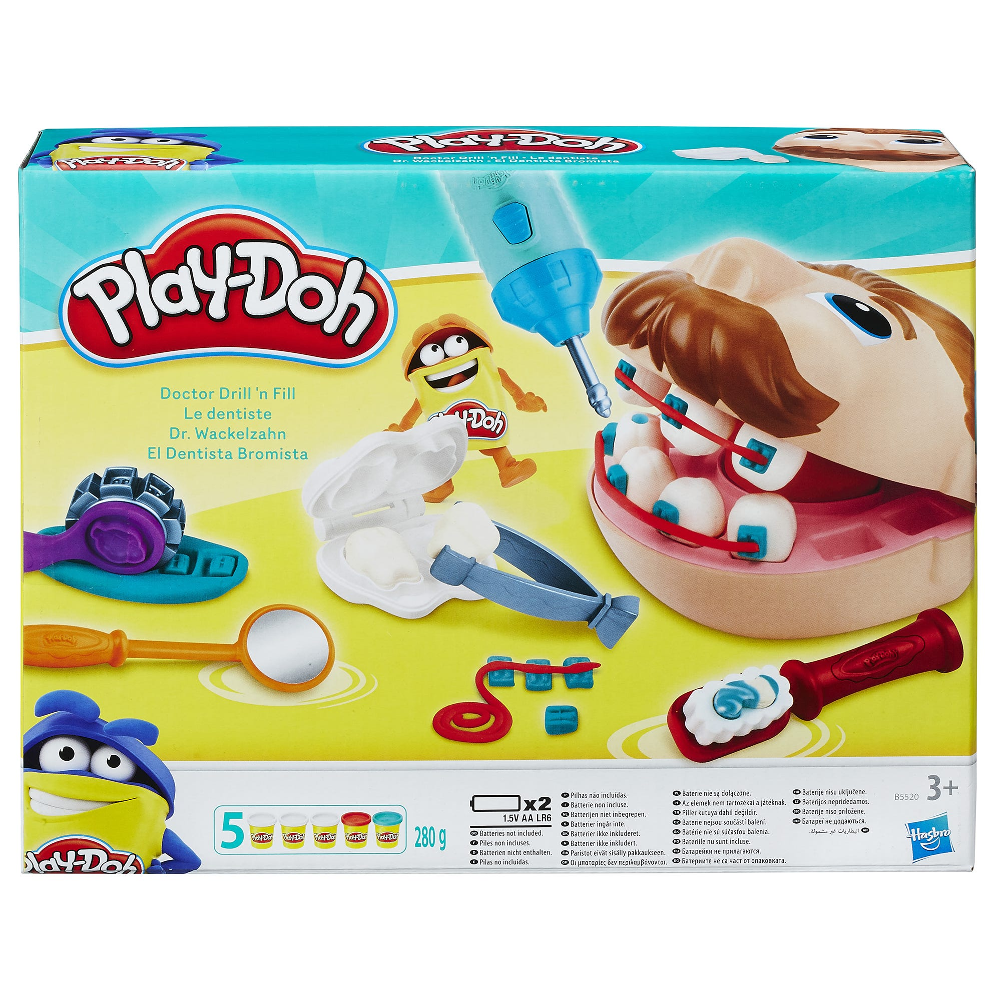 Play-Doh Doctor Drill n Fill Set