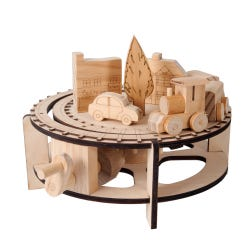 Timberkits Chuffy Train Automaton Kit