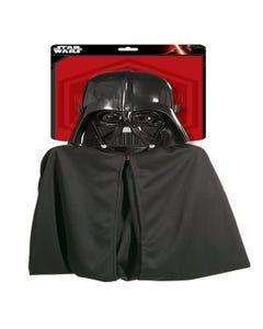 Star Wars Darth Vader Mask & Cape Set