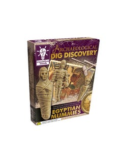 Dig & Discover Egyptian Mummies Kit
