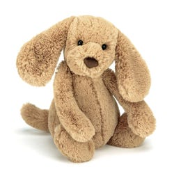 Bashful Toffee Puppy Medium Soft Toy