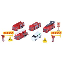 Driving Force Emergency Vehicle Playset