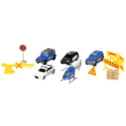 Driving Force Police Vehicle Playset