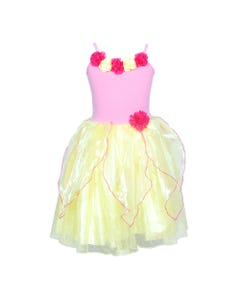Enchanted blossom dress size 5/6-yellow