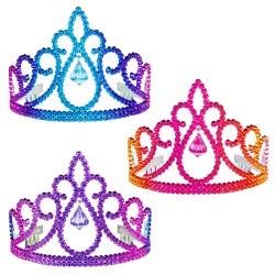 Luvley Colourful Pixie Crown Assortment