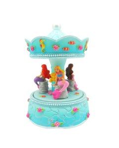 Luvley Summer Mermaid Musical Carousel