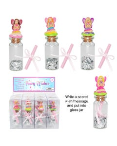Luvley Fairy Message In A Bottle Assortment