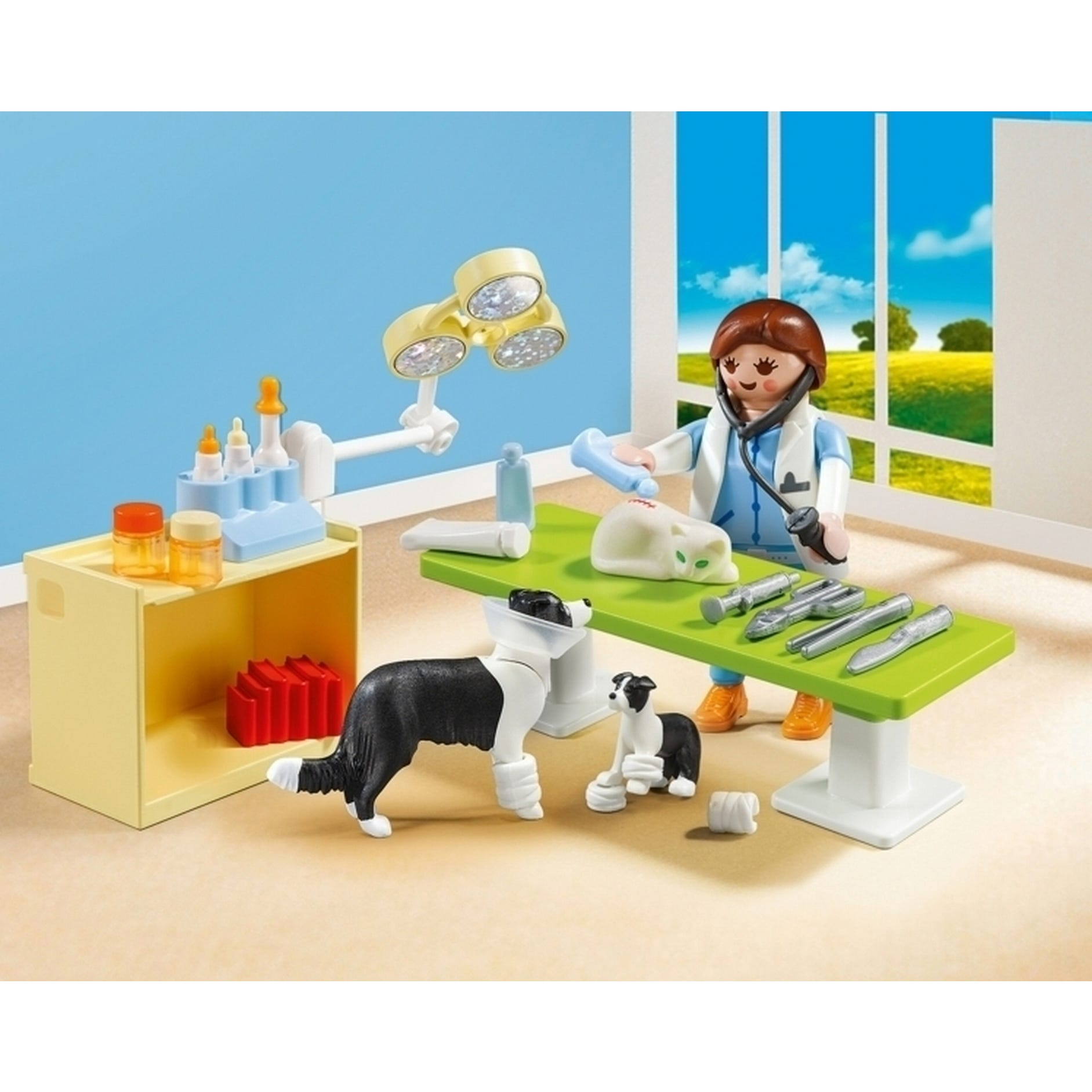 Playmobil City Life Collectable Small Vet Carry Case 5653