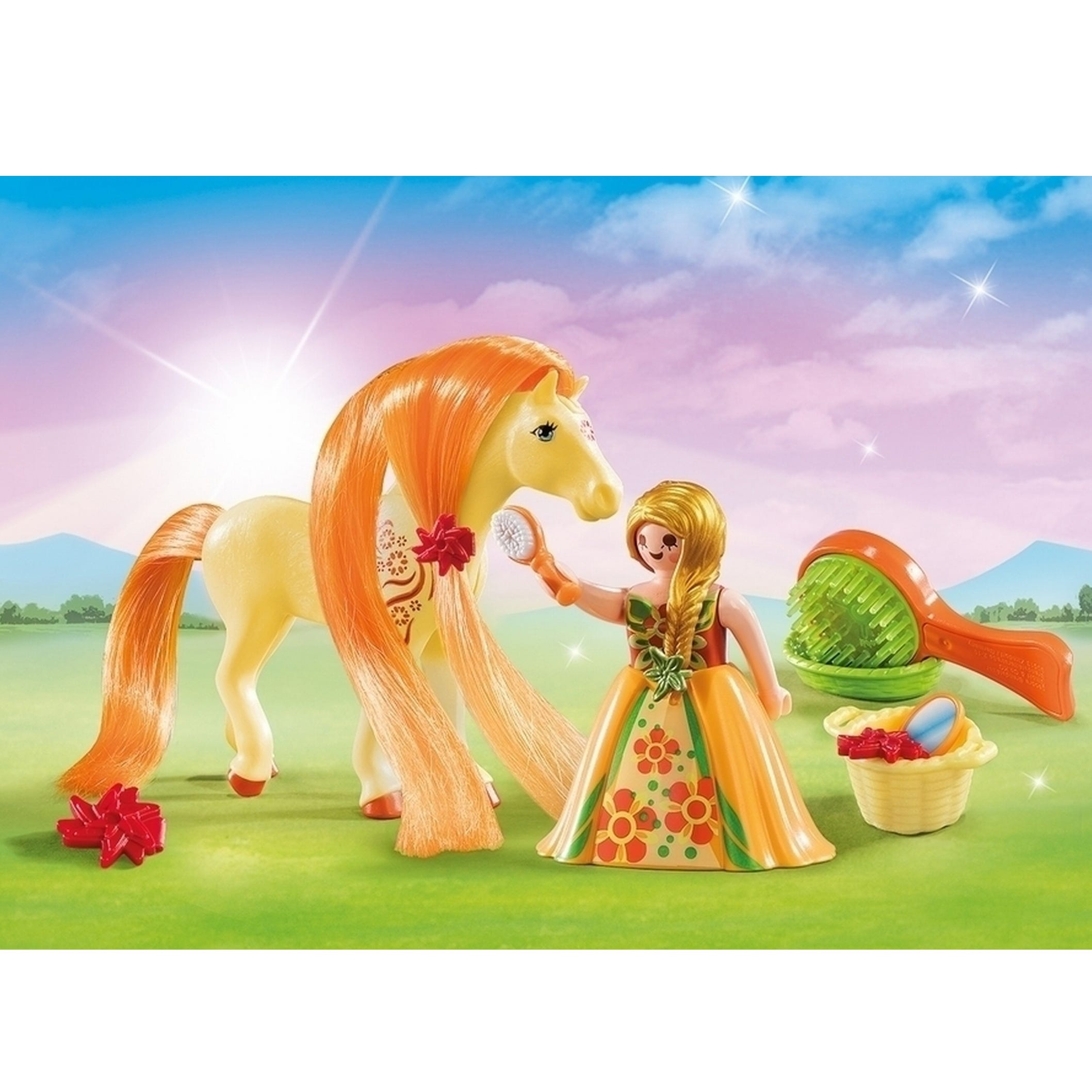 Playmobil Country Combing Horse Mane Carry Case 5656