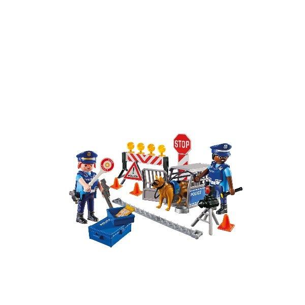 Playmobil City Action Police Roadblock 6924
