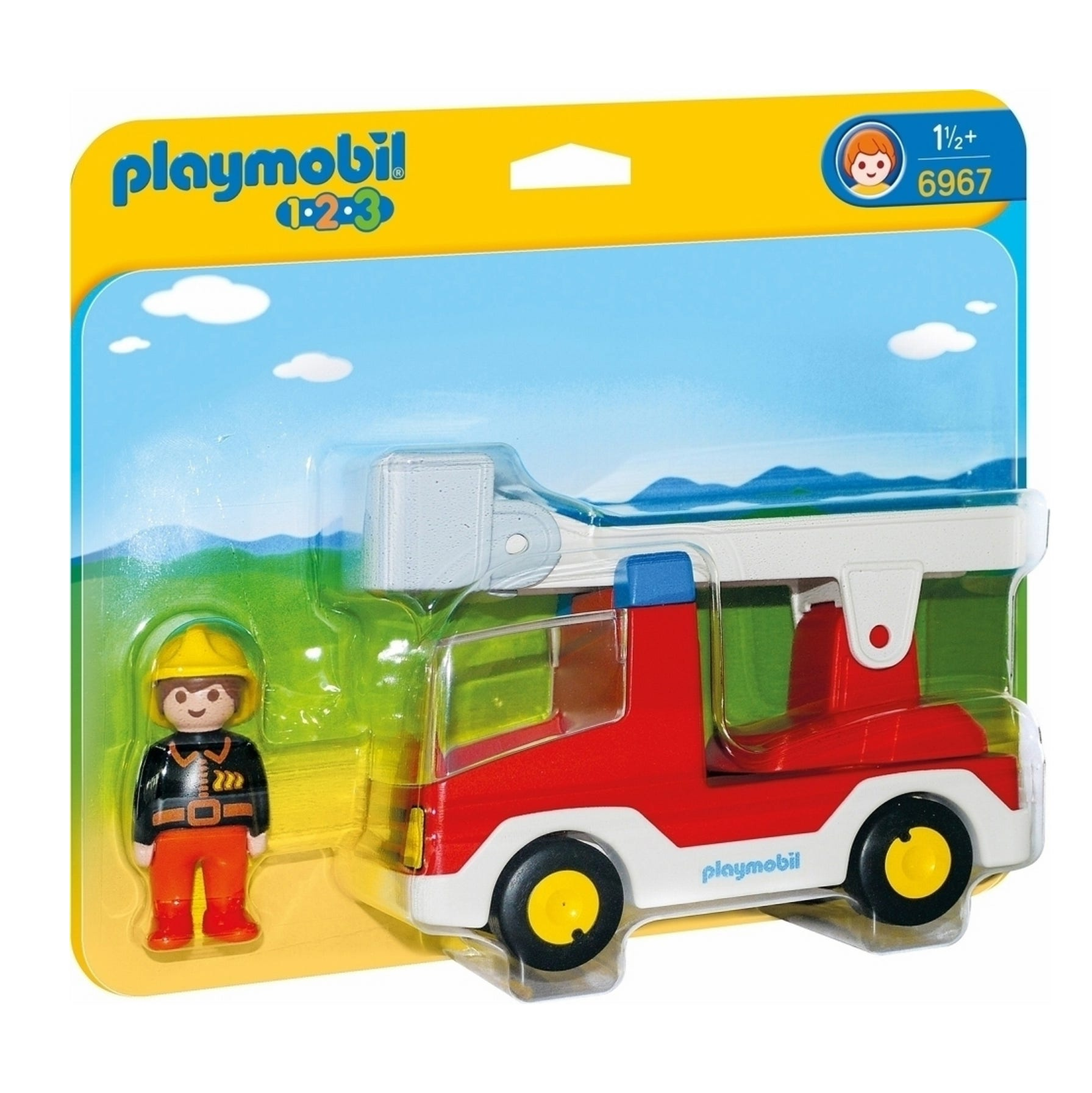 Playmobil 123 Ladder Unit Fire Truck 6967