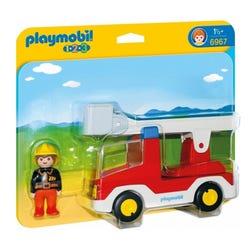Playmobil 123 Ladder Unit Fire Truck 6967