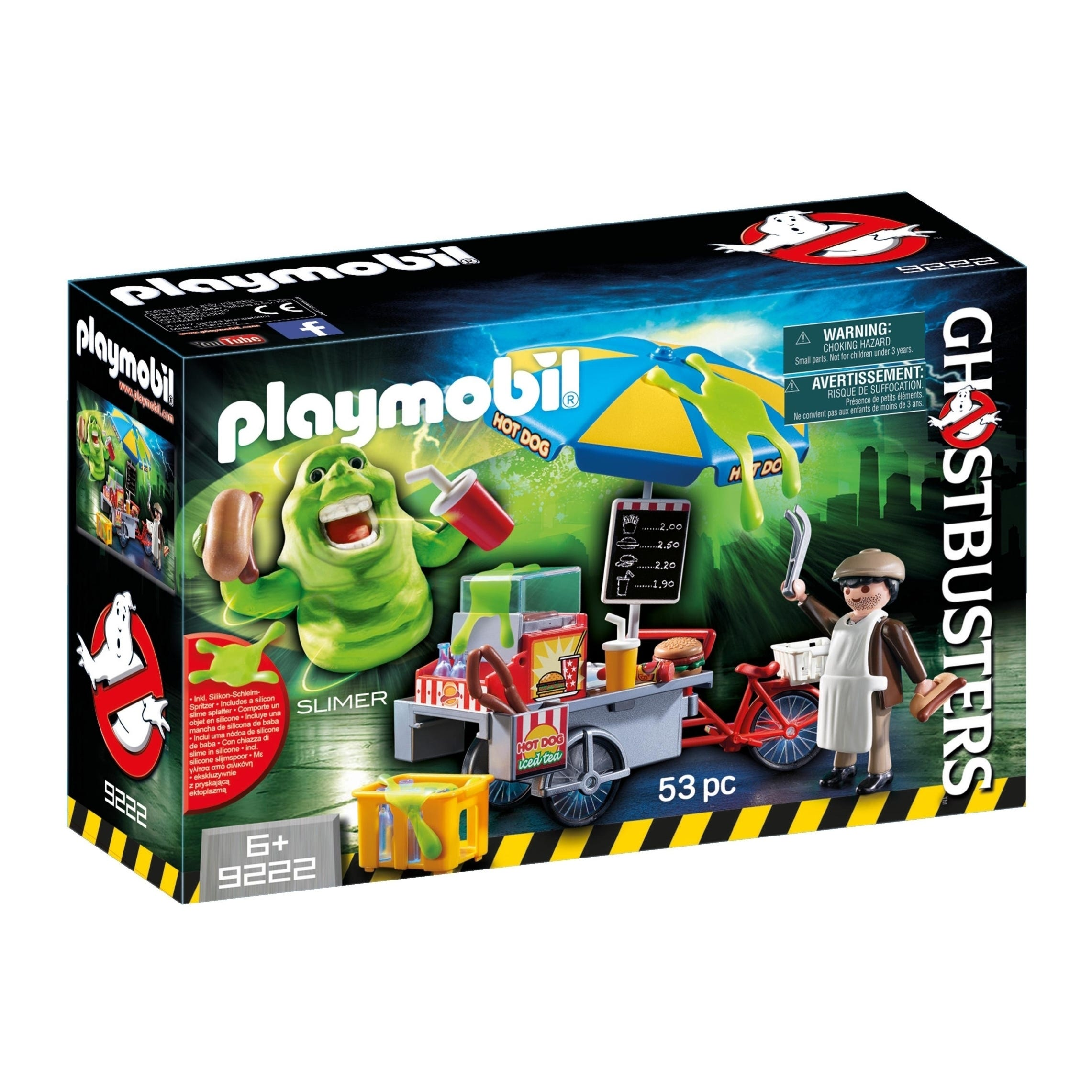 Playmobil Ghostbusters Hot Dog Stand 9222