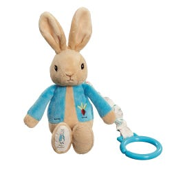 Peter Rabbit Jiggle Attachable Soft Toy