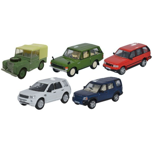 Image of 5 Piece Land Rover Classic Set