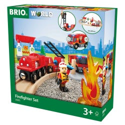 BRIO Rescue Fire Fighter Set
