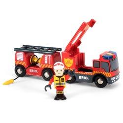 BRIO Rescue Emergency Fire Engine