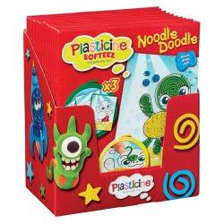 Plasticine Softeez Noodle Doodle Assortment Pack
