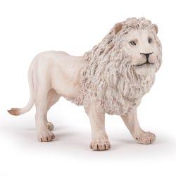 Papo Large White Lion Figure