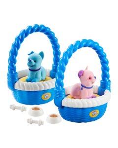 Sweet Talkin Friends Puppy In A Basket Assortment