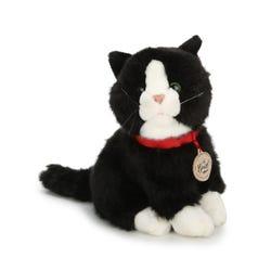Hamleys Sitting Black Cat Soft Toy
