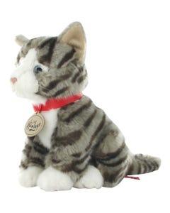 Hamleys Grey Tabby Cat Soft Toy