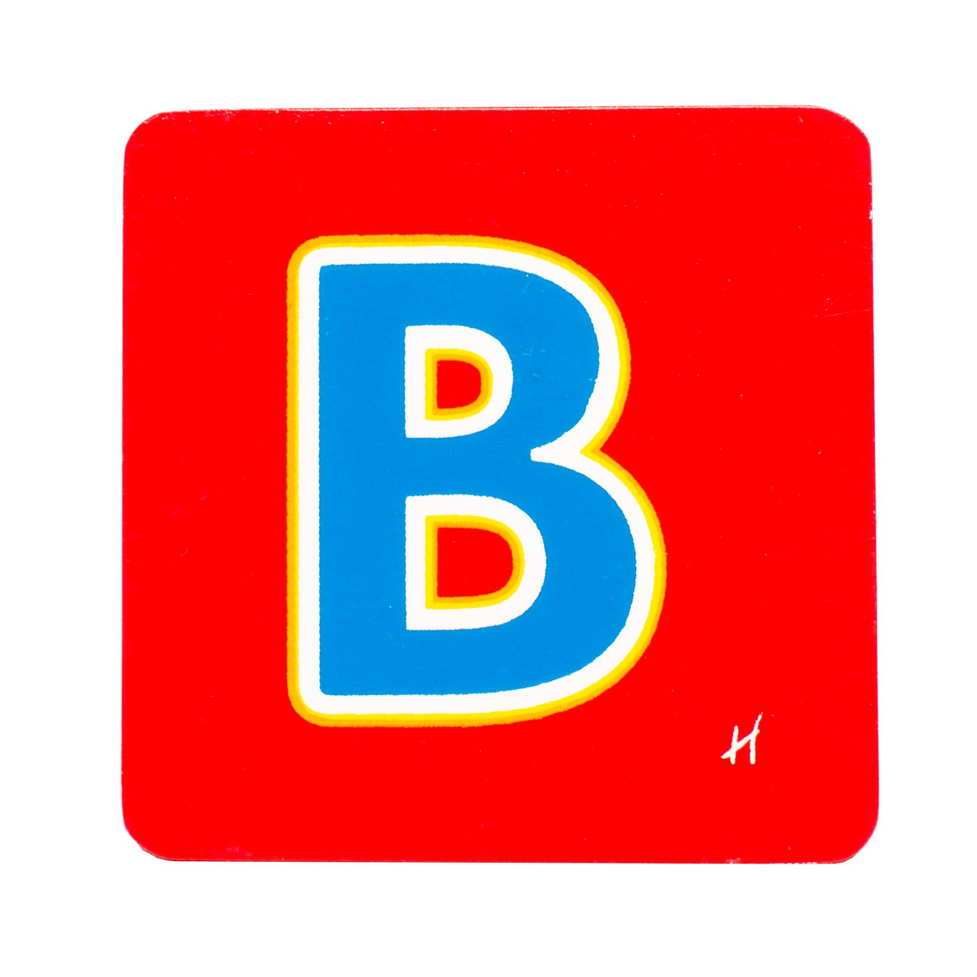 Hamleys Wooden Letter B