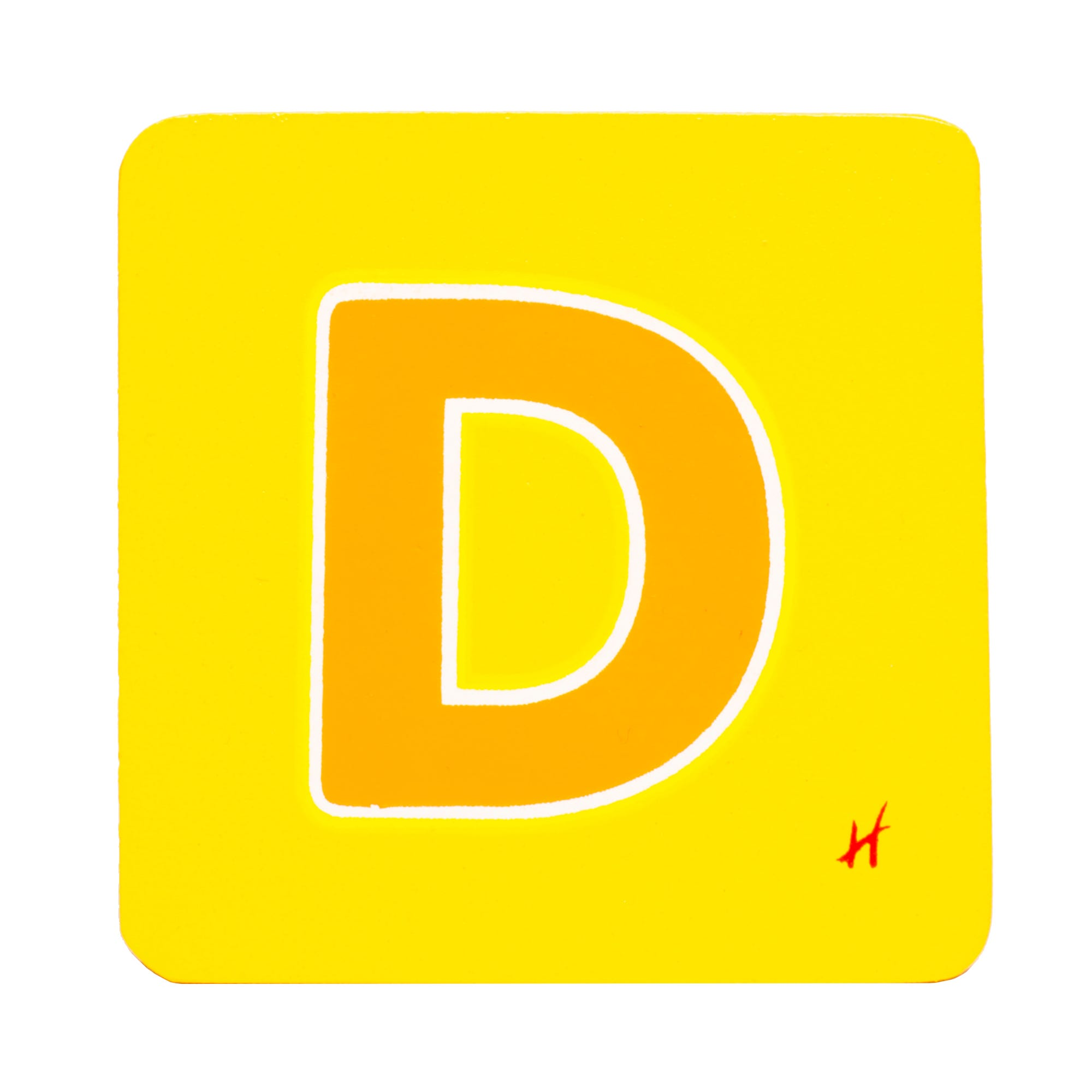Hamleys Wooden Letter D
