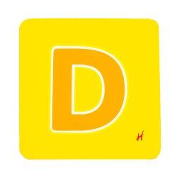 Hamleys Wooden Letter D