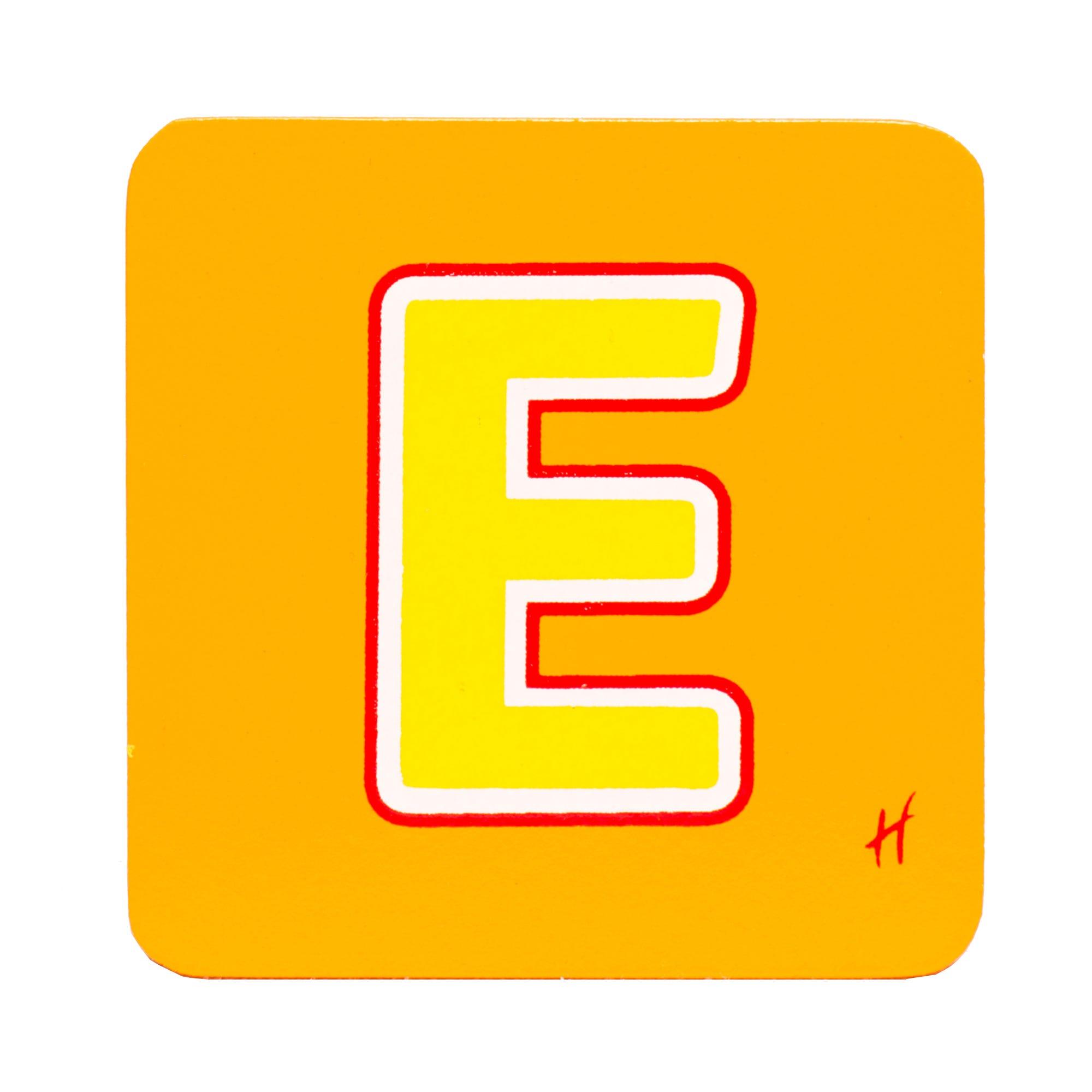 Hamleys Wooden Letter E