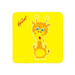 Hamleys Wooden Giraffe Plaque